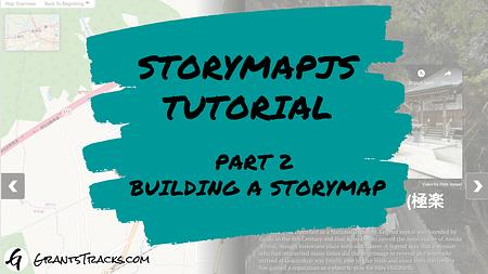 StoryMapJS Part 2