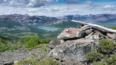 Hike to Lusk Creek Ridge Central Summit