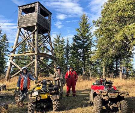 Grizzly Ridge Fire Tower
