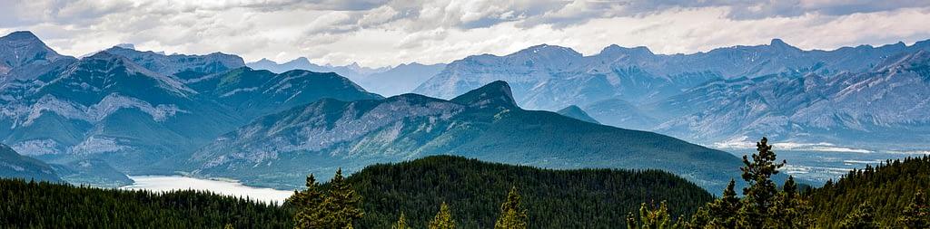 Up and Across Lusk Creek Ridge
