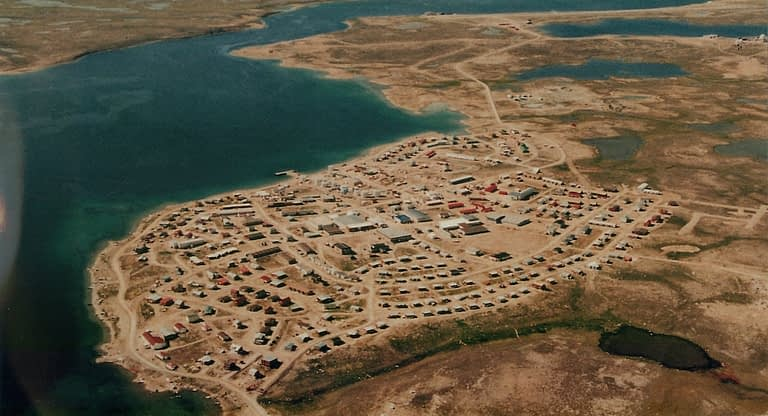 Aerial Photo of Cambridge Bay