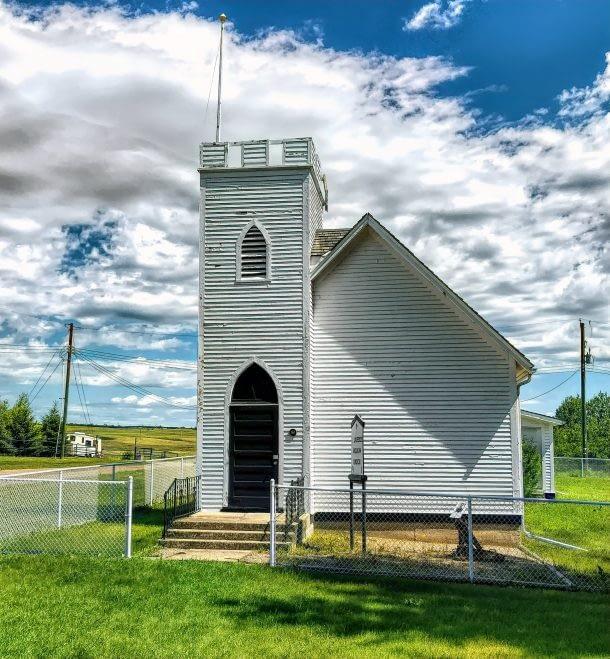 St. Laurence Anglican Church, Monitor, Alberta